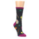 Image of Charcoal Multi Artist Paint Palette Women's Dress Socks (side-1-front-01)