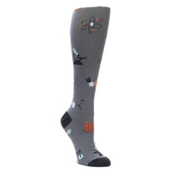 Gray-Science-Lab-Womens-Knee-High-Sock-Sock-It-To-Me