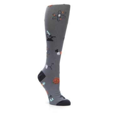 Image of Gray Science Lab Women's Knee High Sock (side-1-27)