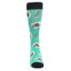 Image of Seafoam Ra-Man Noodles Men's Dress Socks (front-04)