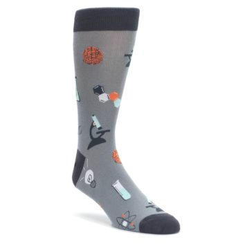 Gray-Science-Lab-Mens-Dress-Socks-Sock-It-To-Me