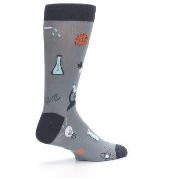 Image of Gray Science Lab Men's Dress Socks (side-1-23)