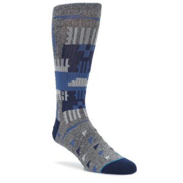 Gray-Navy-Ericeira-Pattern-Mens-Casual-Socks-STANCE