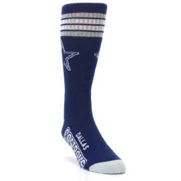 Image of Dallas Cowboys Men's Athletic Crew Socks (side-1-front-02)