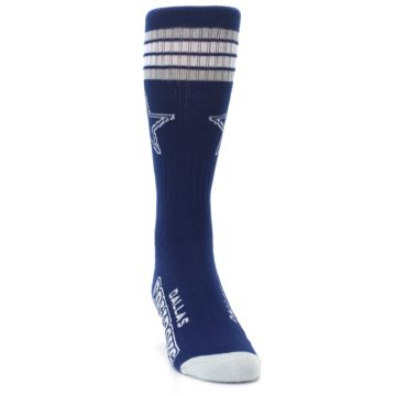 Image of Dallas Cowboys Men's Athletic Crew Socks (side-1-front-03)