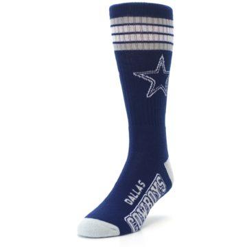 Image of Dallas Cowboys Men's Athletic Crew Socks (side-2-front-07)