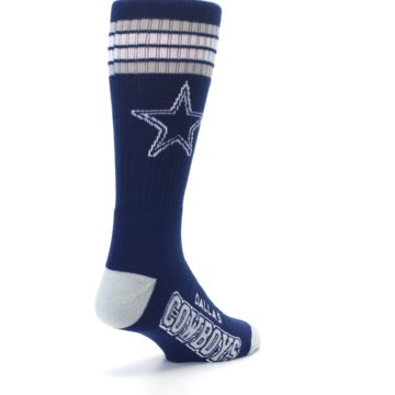Image of Dallas Cowboys Men's Athletic Crew Socks (side-1-back-21)