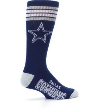 Image of Dallas Cowboys Men's Athletic Crew Socks (side-1-23)