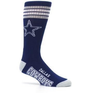 Image of Dallas Cowboys Men's Athletic Crew Socks (side-1-25)