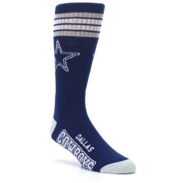 Image of Dallas Cowboys Men's Athletic Crew Socks (side-1-27)