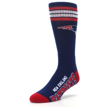 Image of New England Patriots Men's Athletic Crew Socks (side-2-front-08)