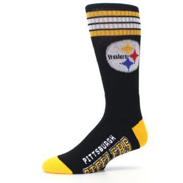 Image of Pittsburgh Steelers Men's Athletic Crew Socks (side-2-10)