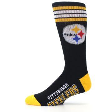 Image of Pittsburgh Steelers Men's Athletic Crew Socks (side-2-11)