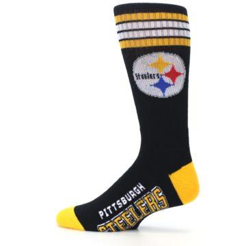 Image of Pittsburgh Steelers Men's Athletic Crew Socks (side-2-12)
