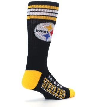 Image of Pittsburgh Steelers Men's Athletic Crew Socks (side-1-back-22)