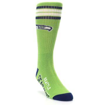 Image of Seattle Seahawks Men's Athletic Crew Socks (side-1-front-02)