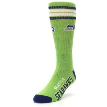Image of Seattle Seahawks Men's Athletic Crew Socks (side-2-front-07)