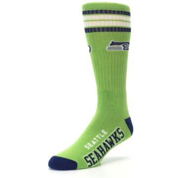 Image of Seattle Seahawks Men's Athletic Crew Socks (side-2-front-08)