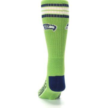 Image of Seattle Seahawks Men's Athletic Crew Socks (back-17)