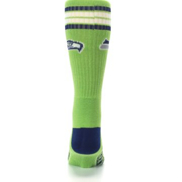 Image of Seattle Seahawks Men's Athletic Crew Socks (back-18)