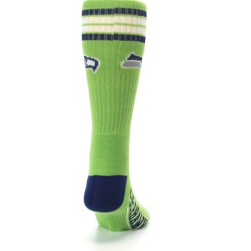 Image of Seattle Seahawks Men's Athletic Crew Socks (back-19)