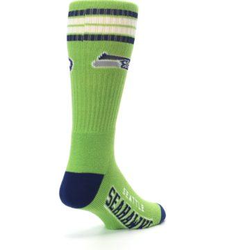 Image of Seattle Seahawks Men's Athletic Crew Socks (side-1-back-21)