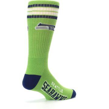 Image of Seattle Seahawks Men's Athletic Crew Socks (side-1-back-22)