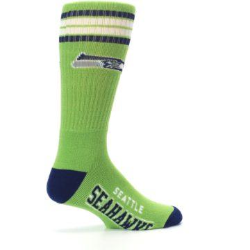 Image of Seattle Seahawks Men's Athletic Crew Socks (side-1-23)