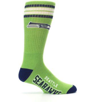 Image of Seattle Seahawks Men's Athletic Crew Socks (side-1-24)