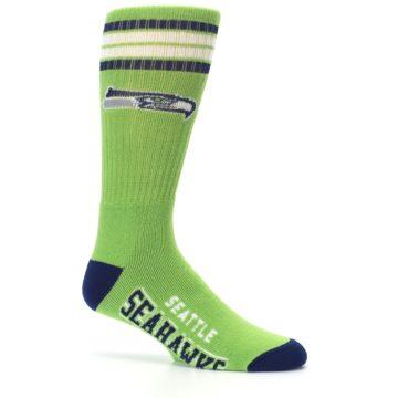 Image of Seattle Seahawks Men's Athletic Crew Socks (side-1-25)