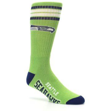 Image of Seattle Seahawks Men's Athletic Crew Socks (side-1-26)