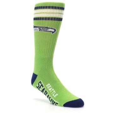 Image of Seattle Seahawks Men's Athletic Crew Socks (side-1-27)