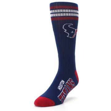 Image of Houston Texans Men's Athletic Crew Socks (side-2-front-07)