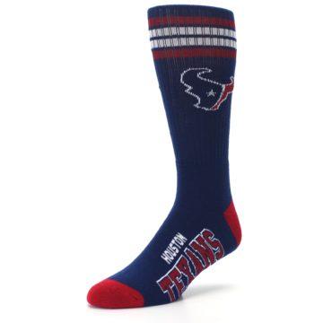 Image of Houston Texans Men's Athletic Crew Socks (side-2-front-08)