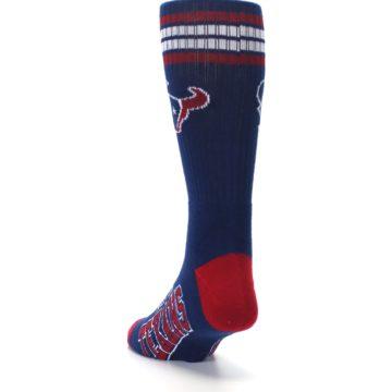Image of Houston Texans Men's Athletic Crew Socks (side-2-back-16)