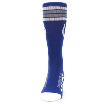Image of Indianapolis Colts Men's Athletic Crew Socks (front-05)