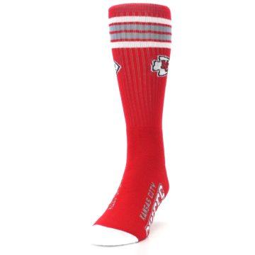 Image of Kansas City Chiefs Men's Athletic Crew Socks (side-2-front-06)
