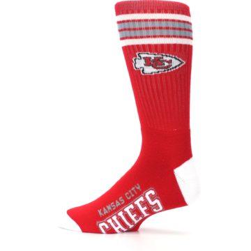 Image of Kansas City Chiefs Men's Athletic Crew Socks (side-2-12)