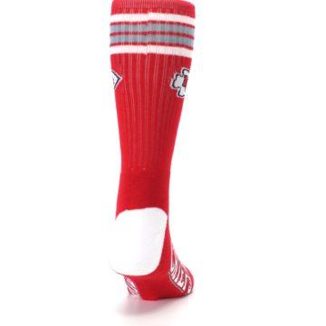 Image of Kansas City Chiefs Men's Athletic Crew Socks (back-19)