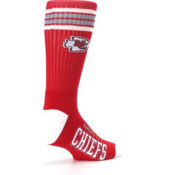 Image of Kansas City Chiefs Men's Athletic Crew Socks (side-1-back-22)