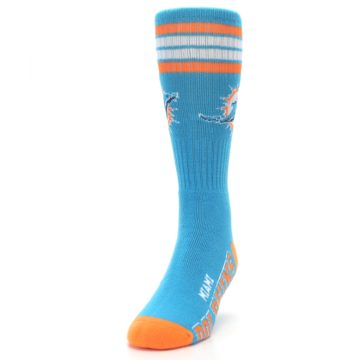 Image of Miami Dolphins Men's Athletic Crew Socks (side-2-front-06)