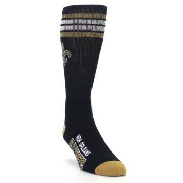 Image of New Orlean Saints Men's Athletic Crew Socks (side-1-front-02)