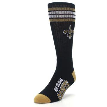Image of New Orlean Saints Men's Athletic Crew Socks (side-2-front-07)