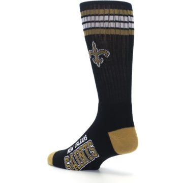 Image of New Orlean Saints Men's Athletic Crew Socks (side-2-back-14)