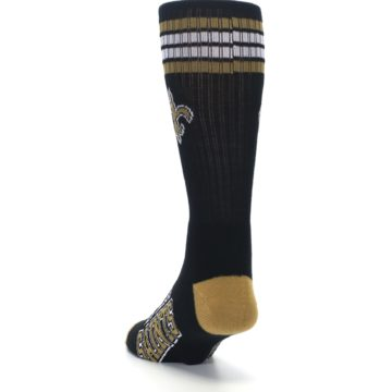 Image of New Orlean Saints Men's Athletic Crew Socks (side-2-back-16)