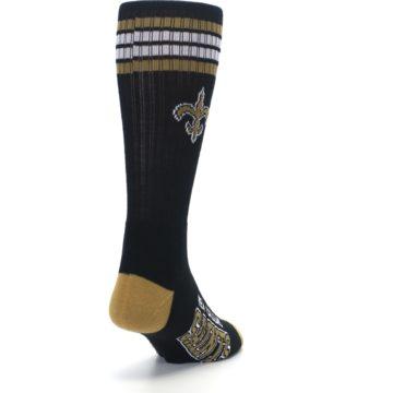 Image of New Orlean Saints Men's Athletic Crew Socks (side-1-back-20)