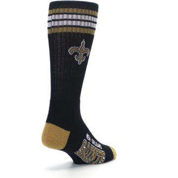 Image of New Orlean Saints Men's Athletic Crew Socks (side-1-back-21)