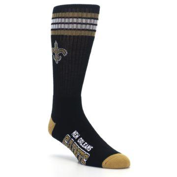 Image of New Orlean Saints Men's Athletic Crew Socks (side-1-27)