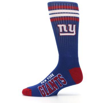 Image of New York Giants Men's Athletic Crew Socks (side-2-11)