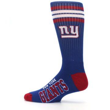 Image of New York Giants Men's Athletic Crew Socks (side-2-12)